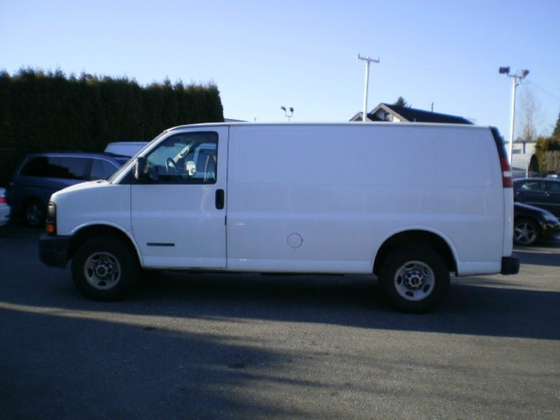GMC Savana Cargo Van 2005 price $8,380
