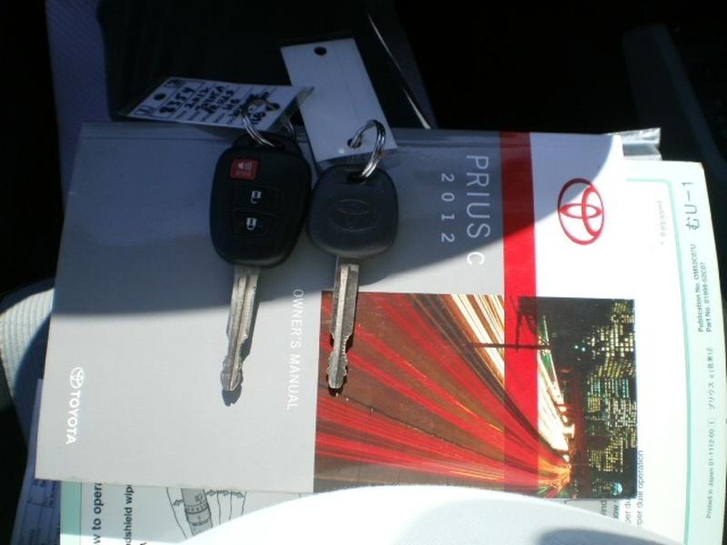 Toyota Prius c 2012 price $10,980