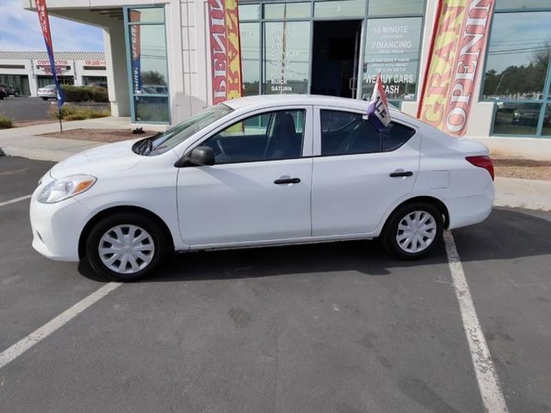 Nissan Versa 2013 price $5,495