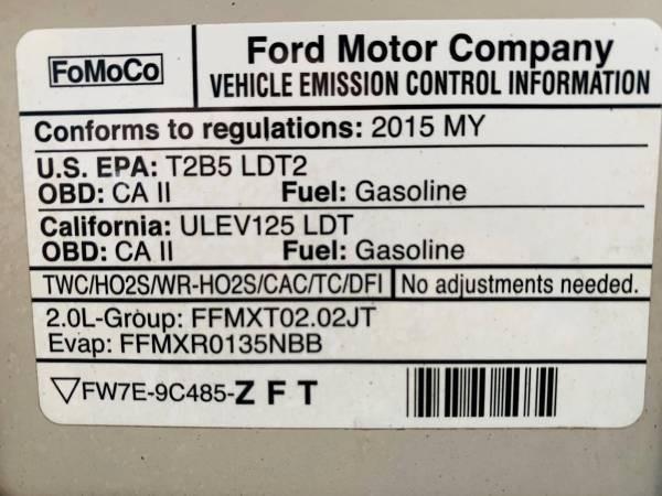 Ford Edge 2015 price $14,900