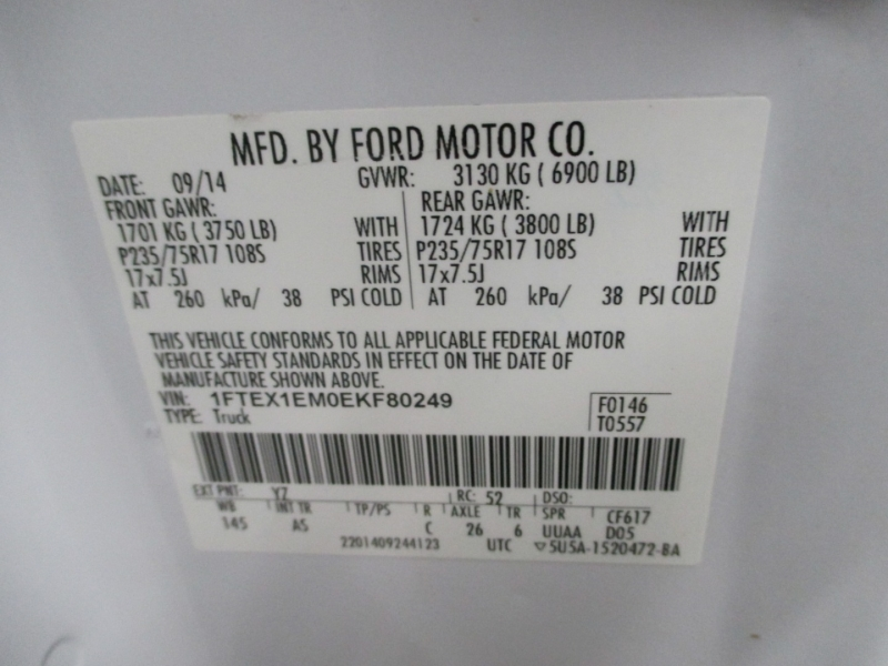 Ford F-150 2014 price $15,950