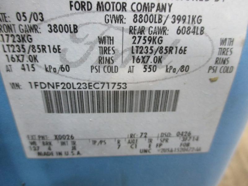 Ford Super Duty F-250 2003 price $5,950