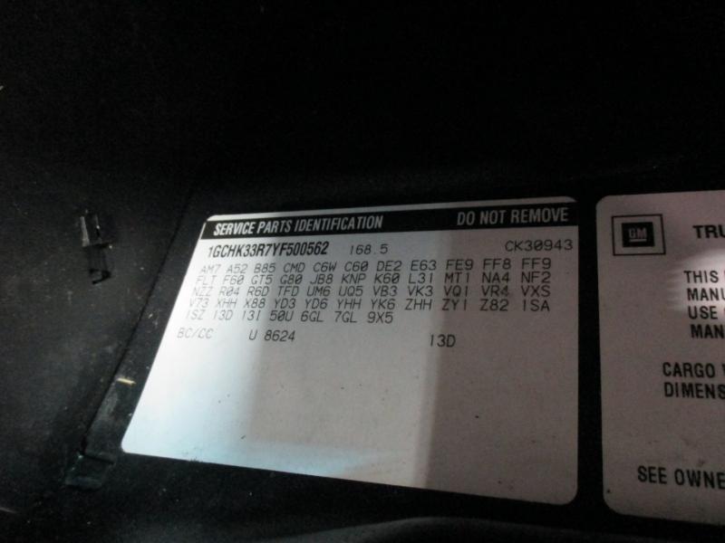 Chevrolet Silverado 3500 4WD 2000 price $13,950