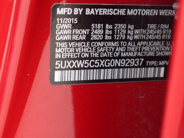 BMW X4 2016 price $25,396