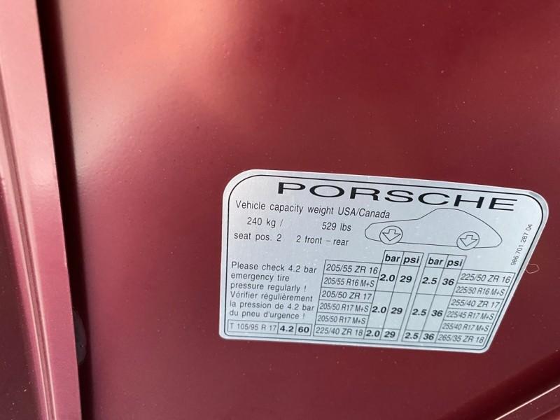 PORSCHE BOXSTER 1998 price $7,498