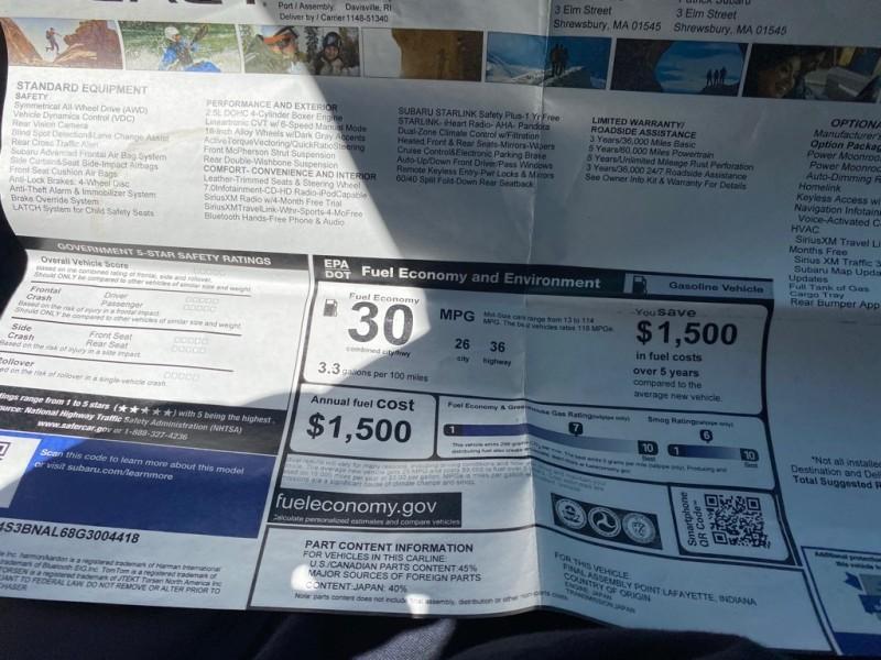SUBARU LEGACY 2016 price $10,999