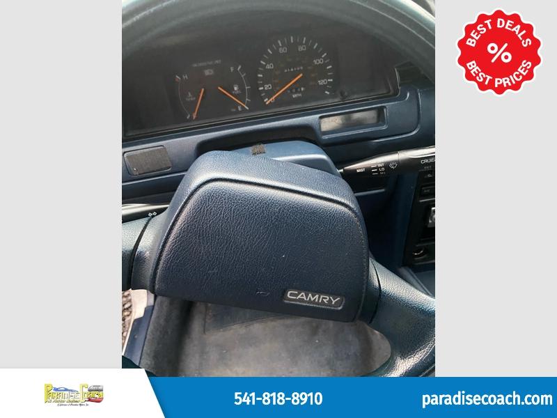 Toyota Camry 1989 price $1,299