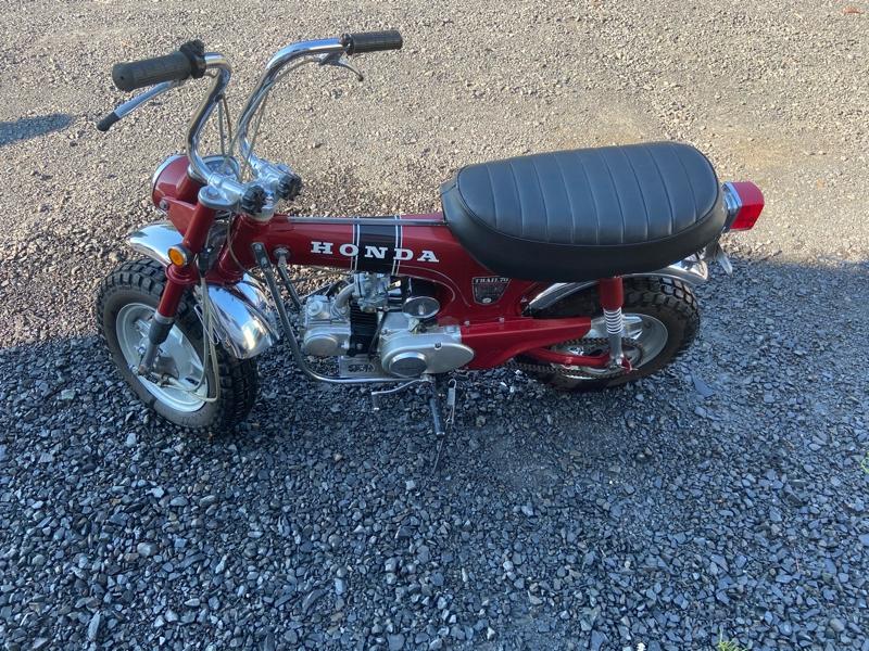 Honda CT70 1970 price $4,750