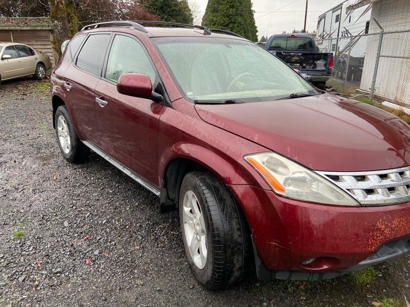 Nissan Murano 2005 price $3,999