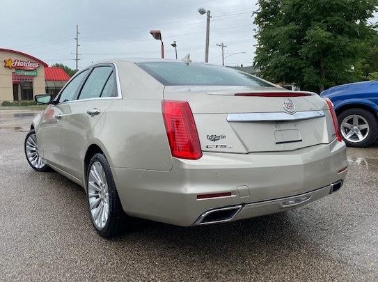 Cadillac CTS Sedan 2014 price $20,997