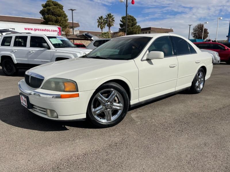 Lincoln LS 2002 price $1,995