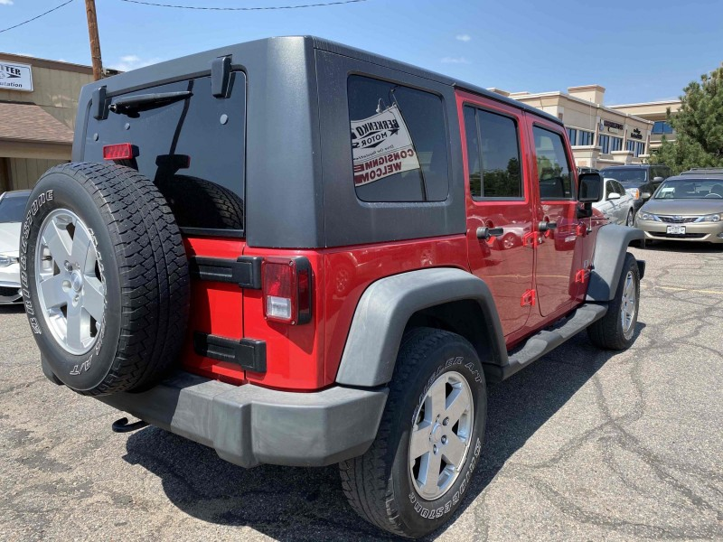 Jeep Wrangler Unlimited 2008 price $16,900