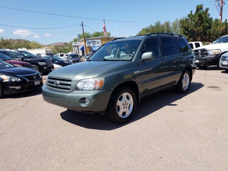 Toyota Highlander 2006 price $9,900