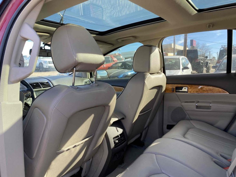 Lincoln MKX 2012 price $17,900