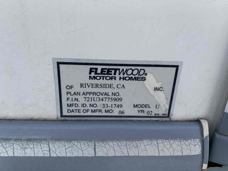 ftwd southwind 2002 price $17,995