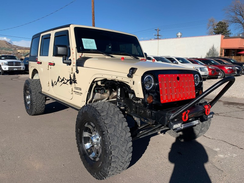 Jeep Wrangler Unlimited 2012 price $20,995