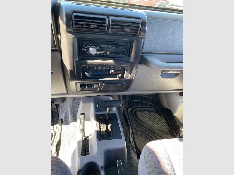 Jeep Wrangler 1998 price $9,990