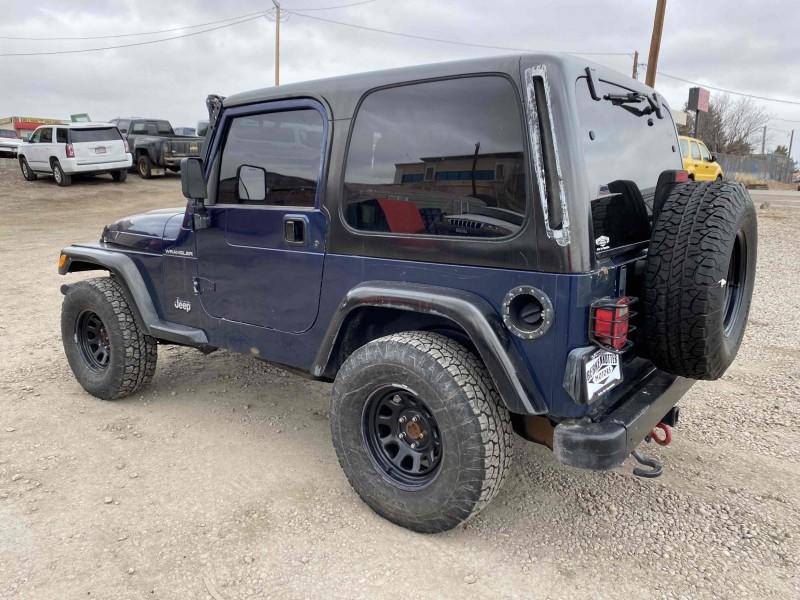 Jeep Wrangler 2002 price $9,488