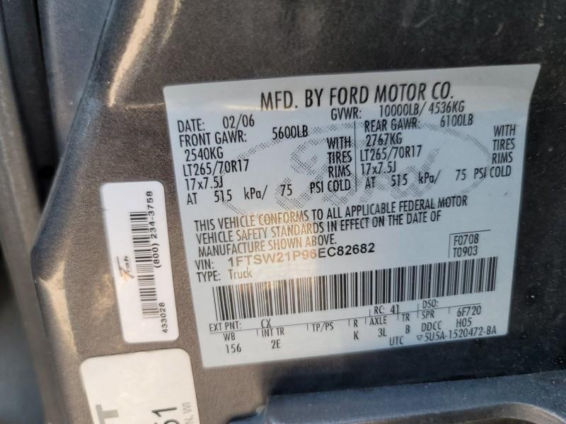 Ford F-250 Super Duty 2006 price $14,995