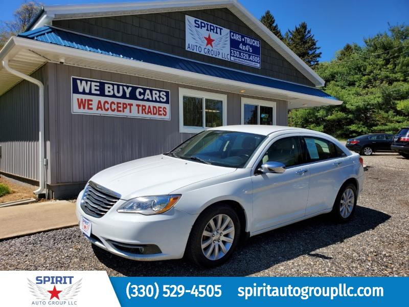 CHRYSLER 200 2013 price $8,900