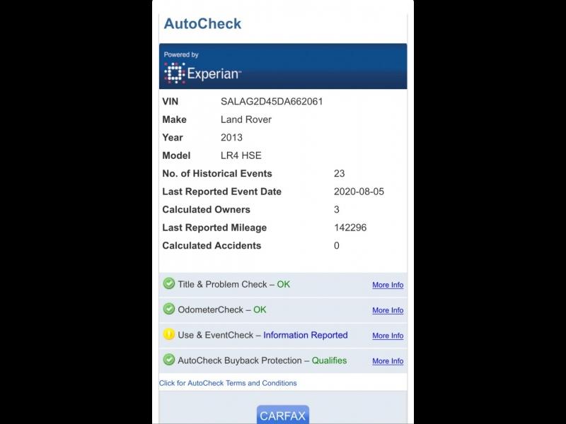 Land Rover LR4 2013 price $15,999