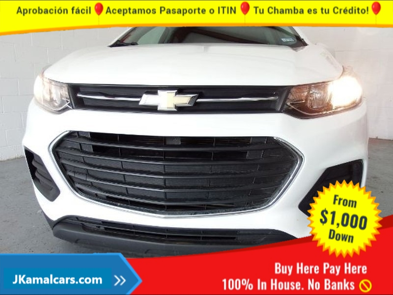 Chevrolet Trax 2018 price $2,500 Down