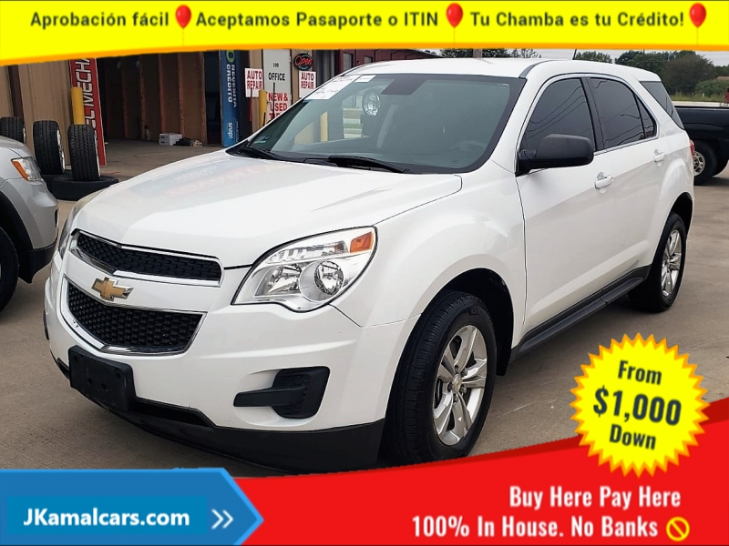 Chevrolet Equinox 2015 price $1,500 Down