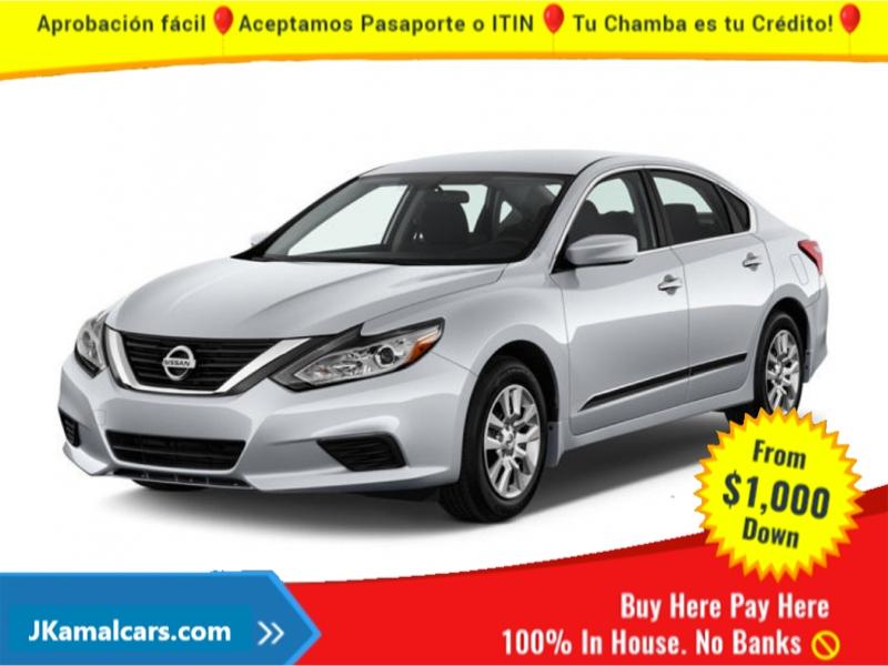 Nissan Altima 2017 price $2,300 Down