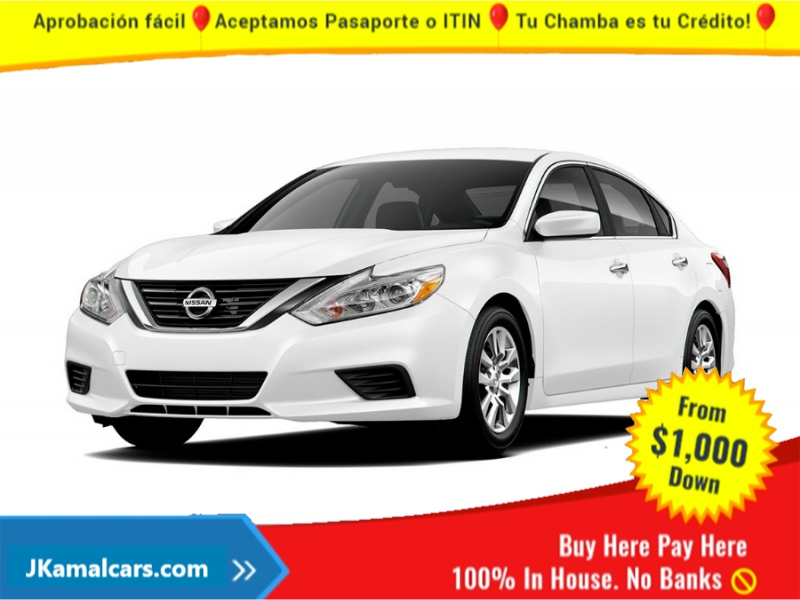 Nissan Altima 2018 price $2,500 Down