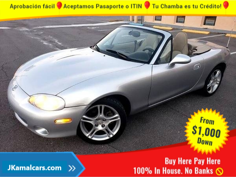 Mazda MX-5 Miata 2003 price $1,700 Down