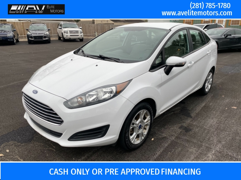 Ford Fiesta 2016 price $5,900