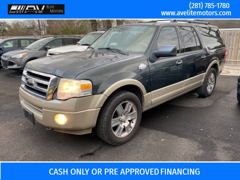Ford Expedition EL 4x4 2009 price $9,500