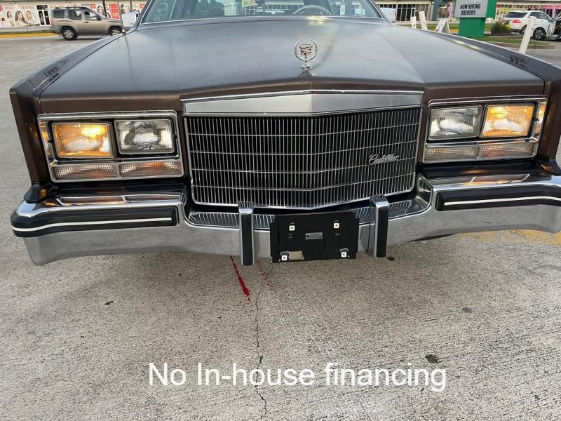 Cadillac Eldorado 1985 price $9,995