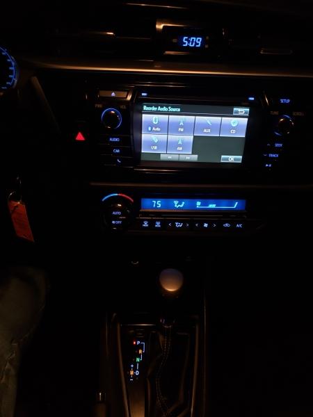 Toyota Corolla 2016 price $14,000