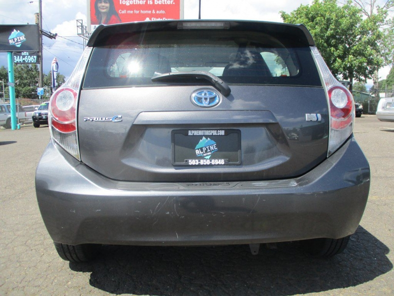 TOYOTA PRIUS C 2012 price $8,999