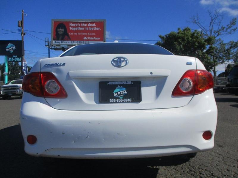TOYOTA COROLLA 2010 price $6,750