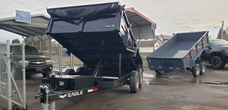 7X12 Dump 10k Eagle Trailer 2020 price Pre order