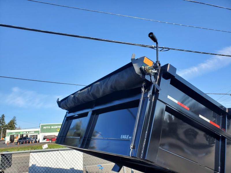 6x12 Dump 7K ramps Eagle Trailer 2020 price Pre order