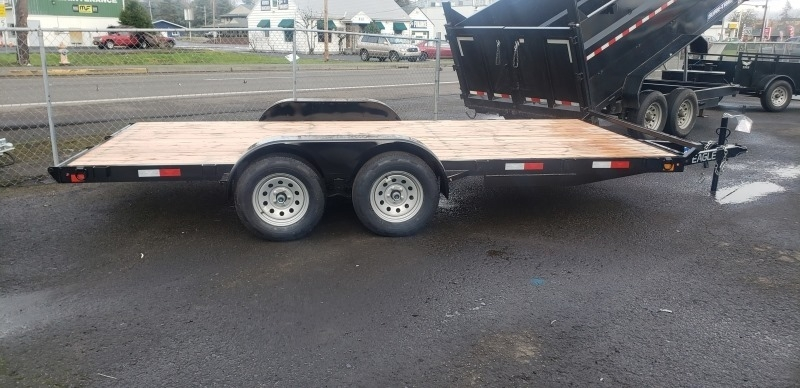 7X16 Flatbed 7K Eagle Trailers 2021 price $3,299