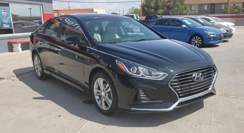 Hyundai Sonata 2018 price $14,962