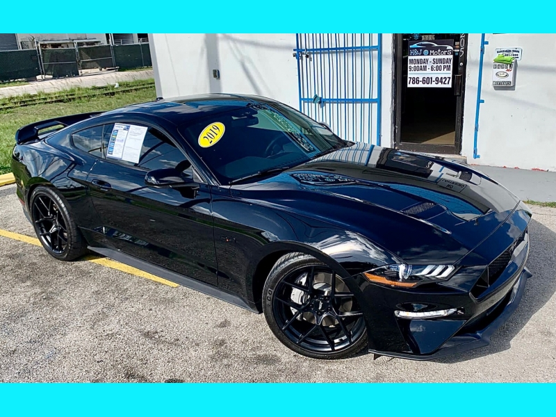 FORD MUSTANG 2019 price $36,995