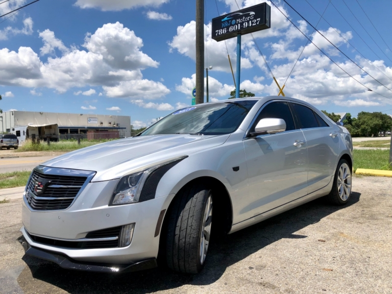 Cadillac ATS Sedan 2015 price $15,995