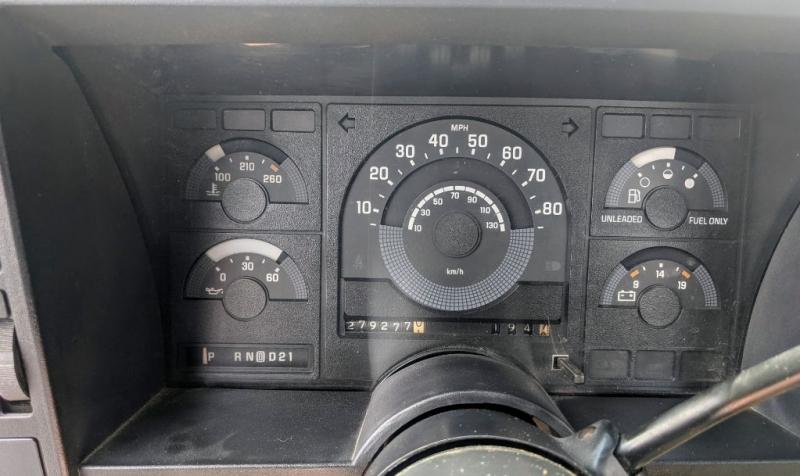 CHEVROLET C2500 1988 price $4,198