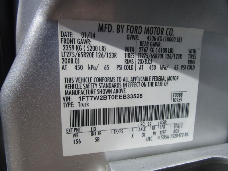 Ford Super Duty F-250 2014 price $49,995