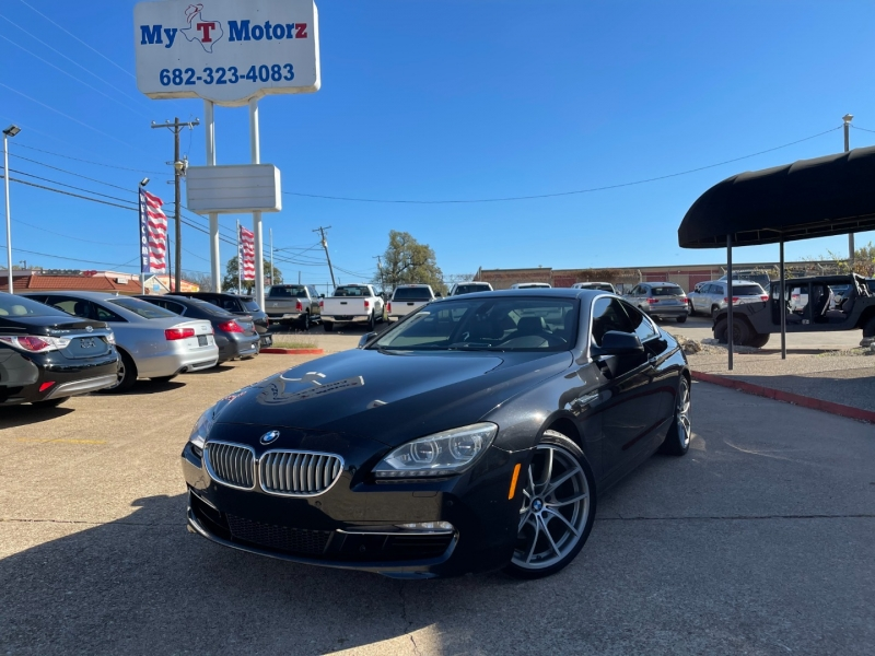 BMW 6-Series 2012 price $16,995