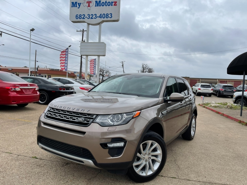 Land Rover Discovery Sport 2016 price $20,795