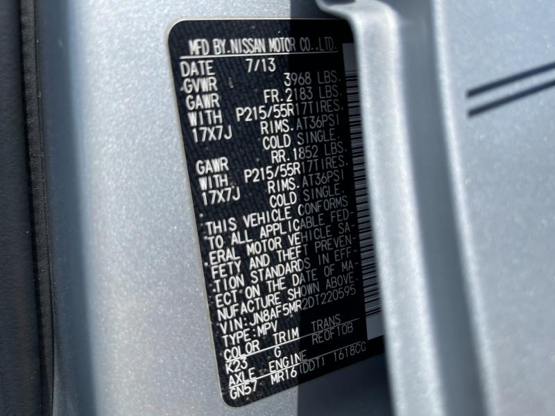 Nissan JUKE 2013 price $10,295