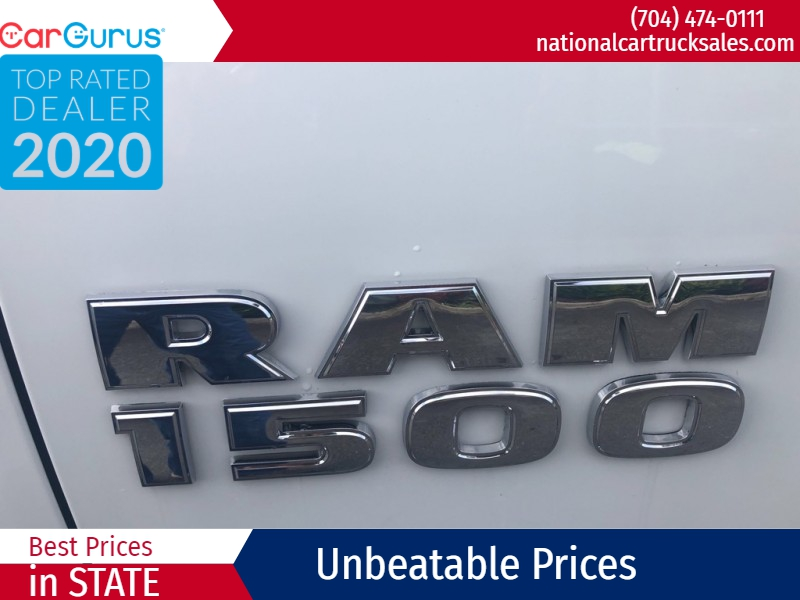 RAM 1500 2017 price $26,998