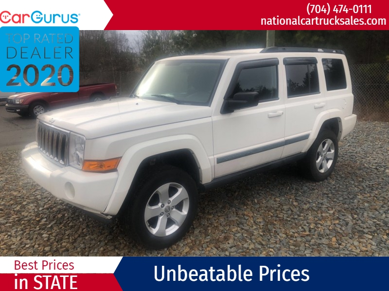 JEEP COMMANDER 2008 price $4,995