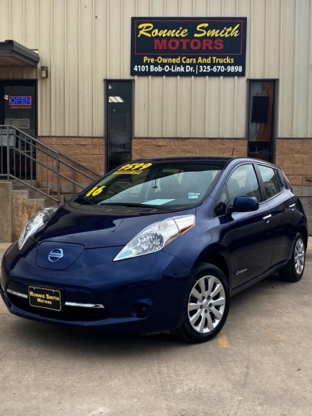 NISSAN LEAF 2016 price $9,599